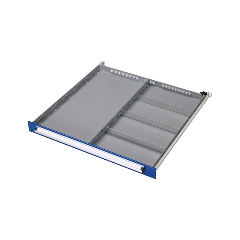 Kit de séparateur de tiroir BASIC, 5 compartiments - KIT SÉPARATEUR DE TIROIRS, 5 COMPARTIME