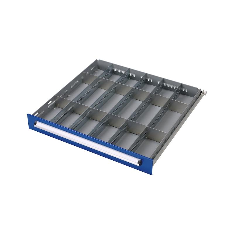 Kit de séparateur de tiroir BASIC, 18 compartiments
