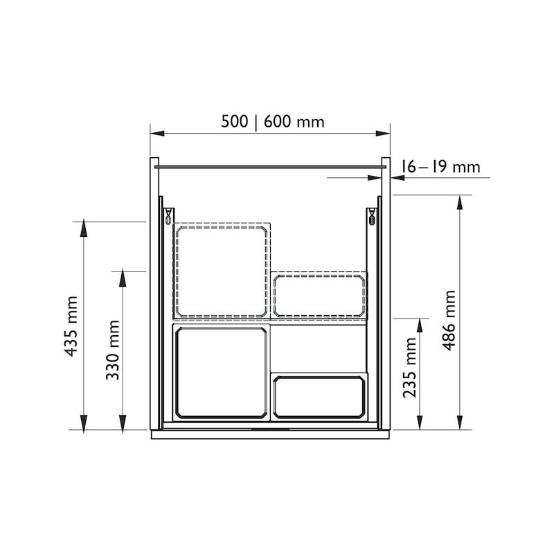 Organisations-Schublade VS ENVI Drawer - 2