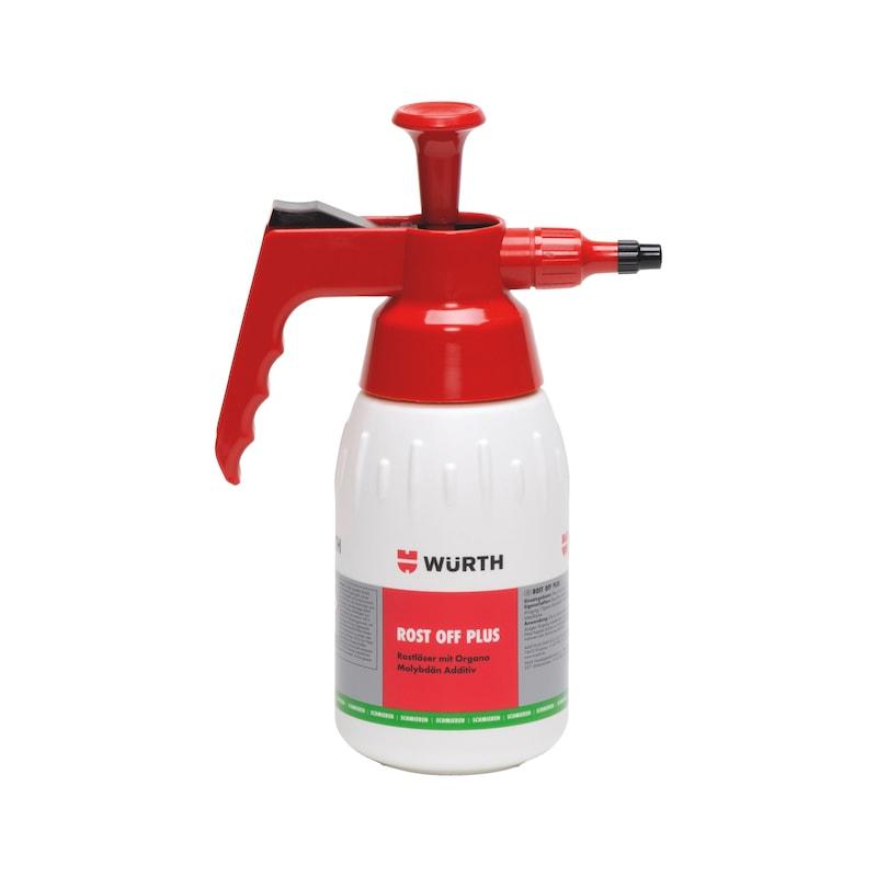 Produktspezifische Pumpsprühflasche unbefüllt - PUMPSPRFLASH-ROST-OFF-PLUS-LEER-1LTR
