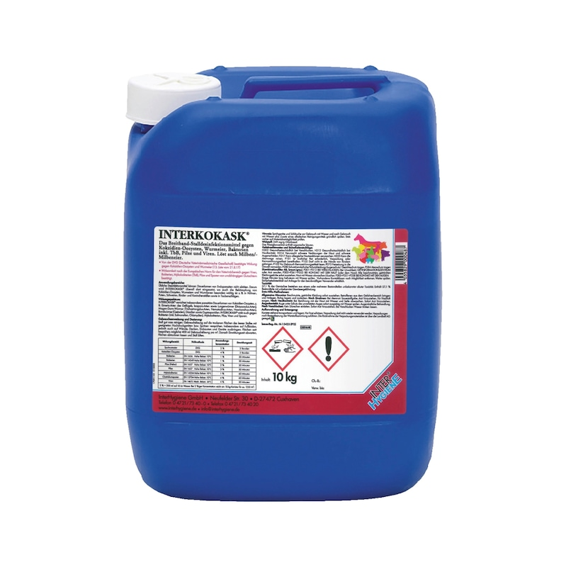 Stalldesinfektionsmittel Interkokask<SUP>®</SUP> - 1