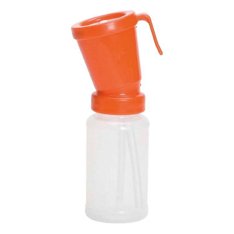 Dippbecher orange für Milchsäure