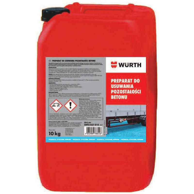 Preparat do usuwania pozostałości betonu - PREP.DO USUWANIA POZ.BETONU+KRANIK