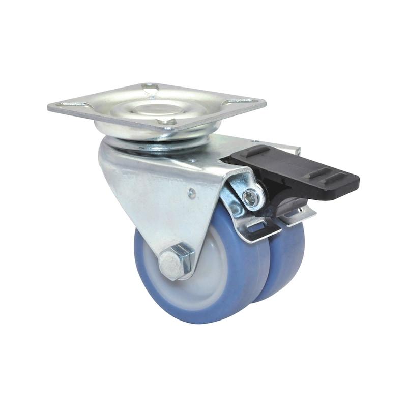 Apparate-Doppellenkrolle ultra-weich