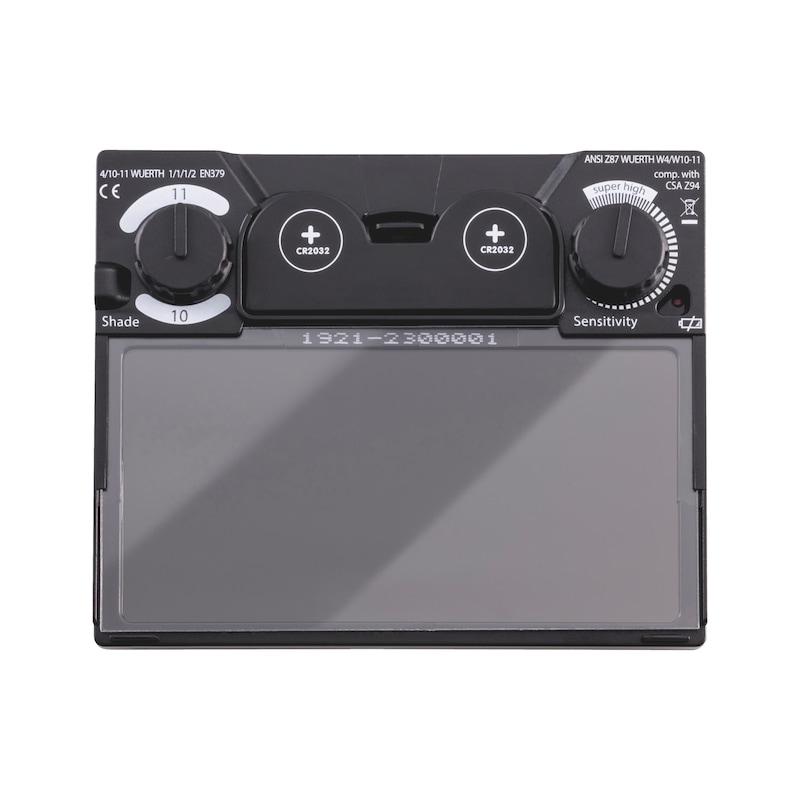 Blendschutzkassette für Automatik-Schweißerhelm WSH III 10-11 - 2