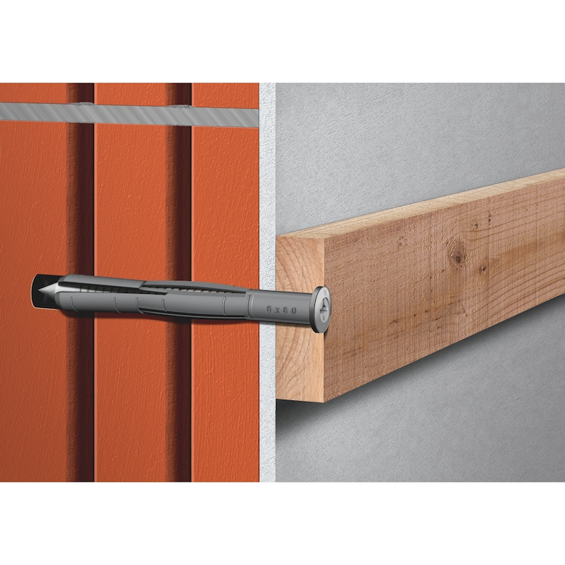 Nagelplug SHARK<SUP>®</SUP> Hammer TYPE SK A2 - ANK-SLAG-(SHARK HAMER)-SK-A2-50-6X80