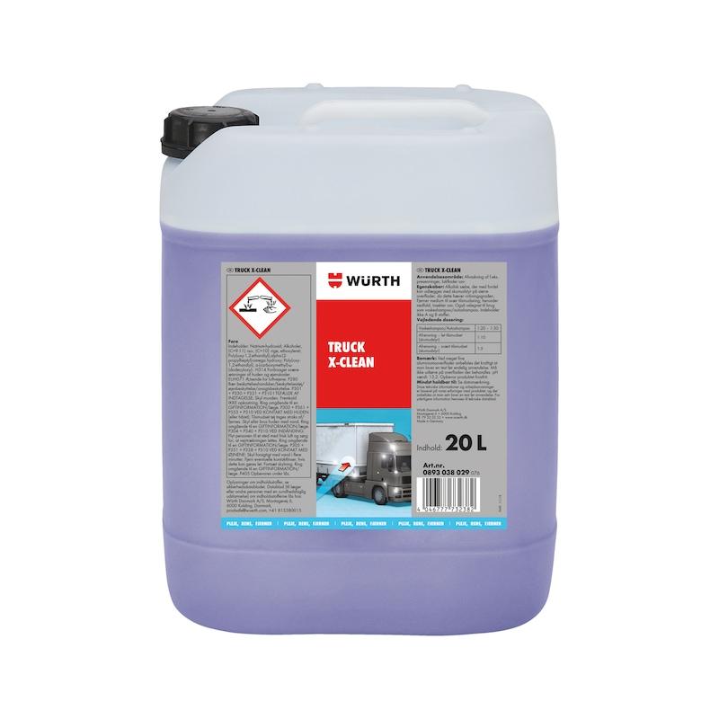 Truck X-clean Et alkalisk koncentrat til forrens. - TRUCK X-CLEAN, 20L