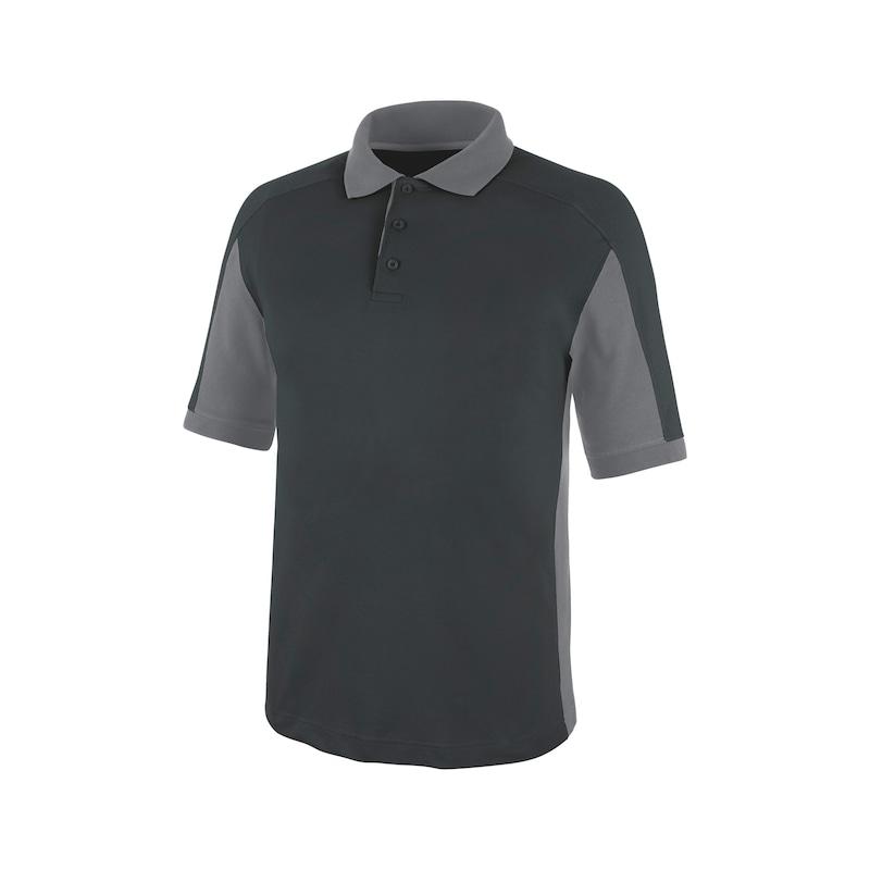 Cetus Poloshirt Anthrazit/Grau CHF
