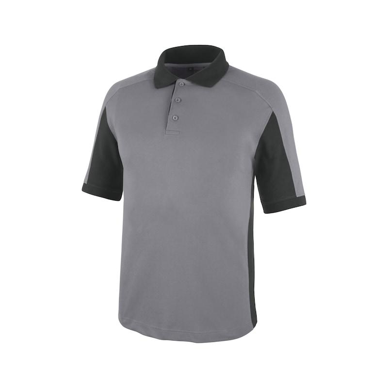 Cetus Poloshirt Grau/Anthrazit CHF