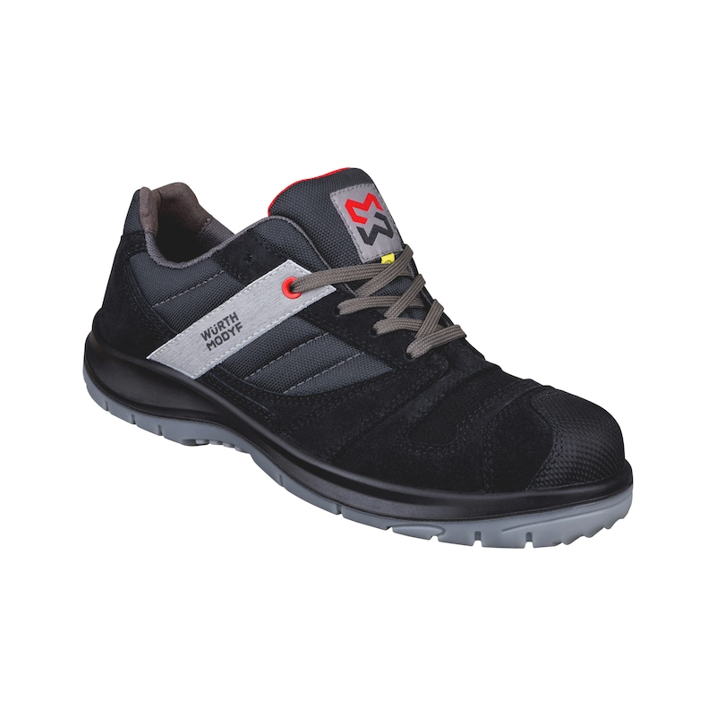 Stretch X S3 low-cut safety shoe ESD - SAFETY SHOE STRETCH X S3 BLACK 43