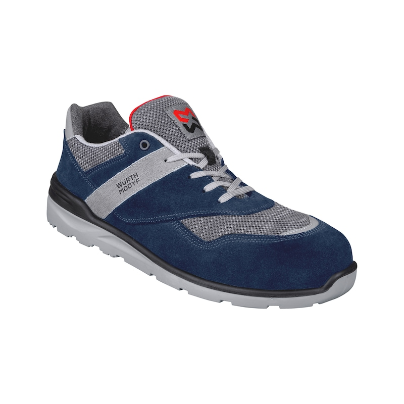 Low-cut safety shoe S1P Cetus with fabric inserts - 1