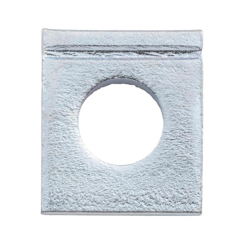 Rondella, quadra, cuneiforme per profilati a I - 1