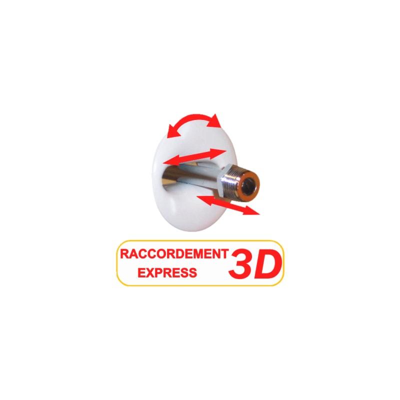 Réservoir attenant double débit 3D - 3