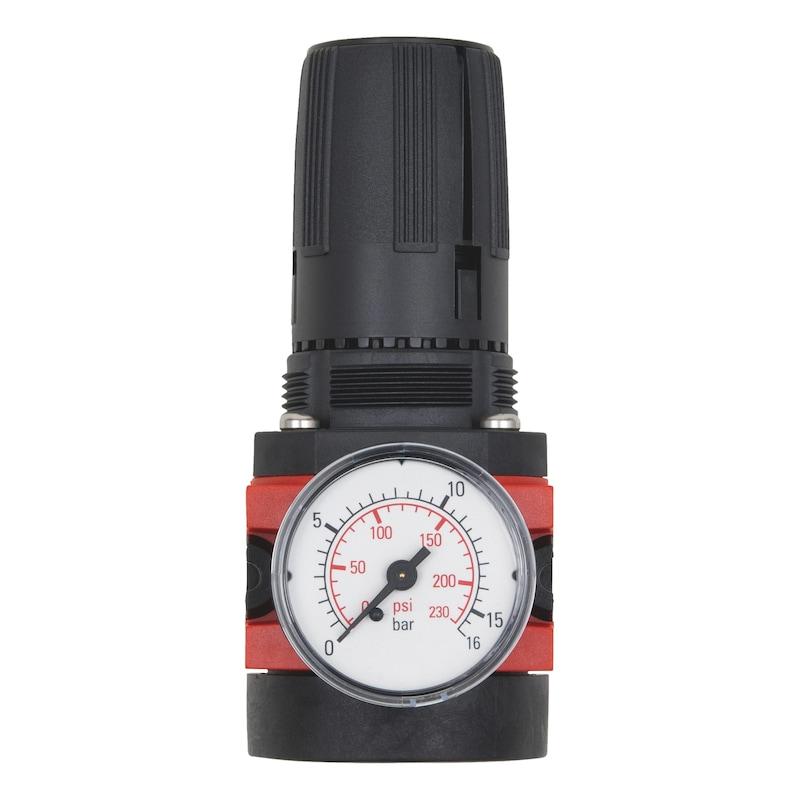 Regler mit Manometer für Druckluft-Wartungseinheit Baugröße 2 - 2