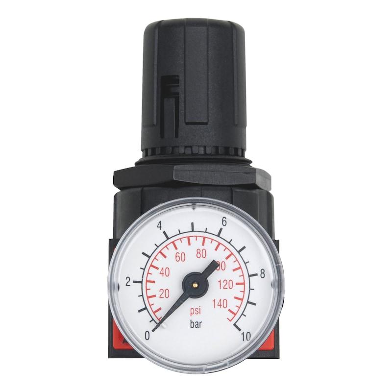 Regler mit Manometer für Druckluft-Wartungseinheit Baugröße 1