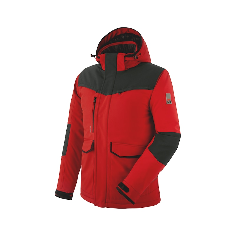 Stretch X Winter Softshelljacke - SOFTSHELLJACKE WINT STRETCH X ROT L