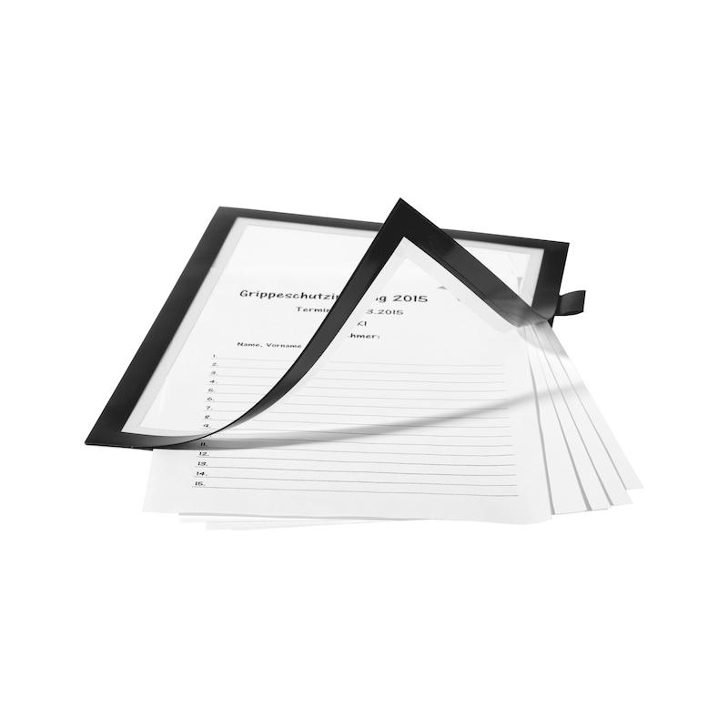 Info-Rahmen beschreibbar, magnetisch - 3