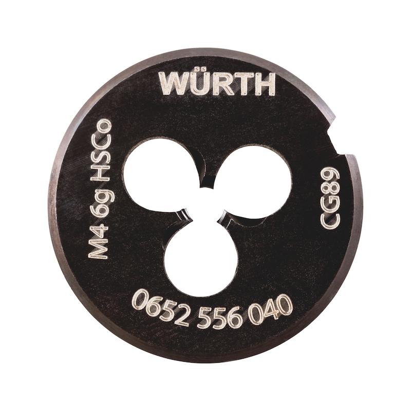 Schneideisen für metrische ISO-Regelgewinde HSCo Multi Performance - SHNDEIS-HSCO-WN-MULTI-PERFORMANCE-M4