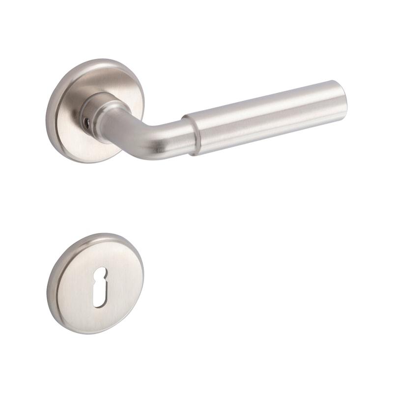 Schlüsselrosettenpaar Abgerundet - 3