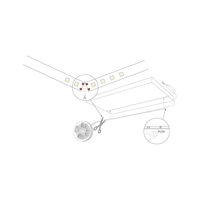 Striscia a LED 24V 12W/m - 3