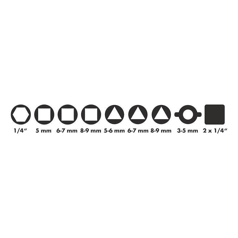 Univerzálny kľúč 10 v 1 - KLUC MULTIFUNKCNY-10 V 1