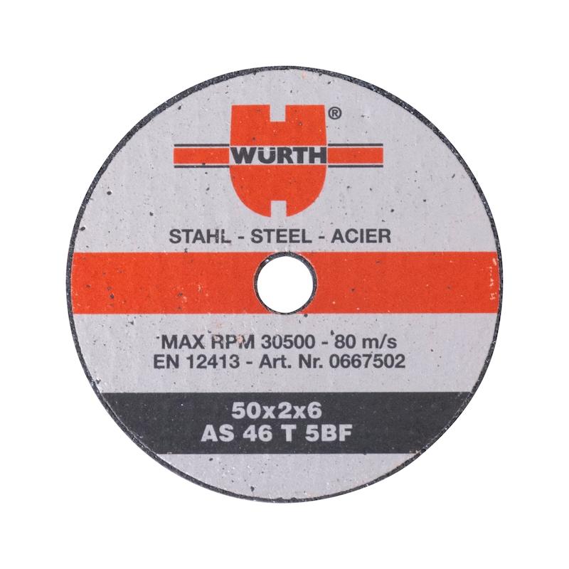 Skæreskive til stål - WURTH SKÆRESKIVE PLAN  Ø50X2X6