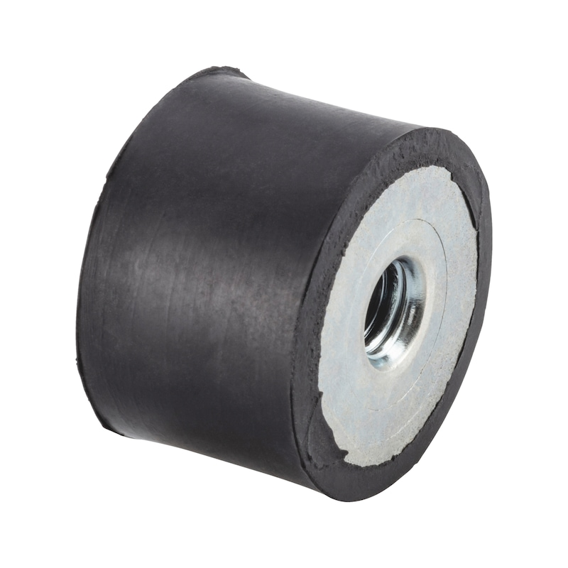 Gummi-Metall-Puffer Typ C - C2C - 1