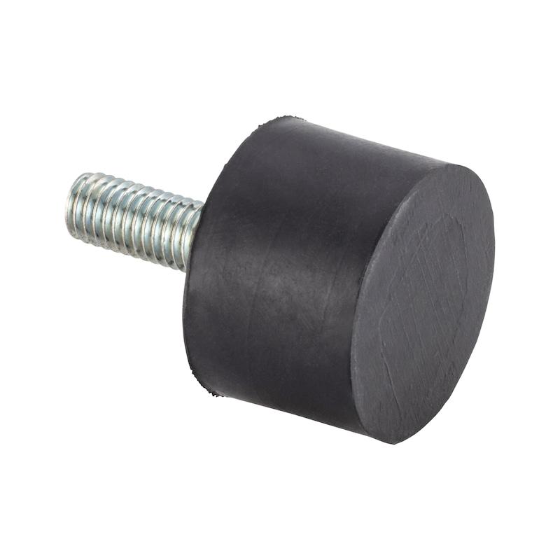 Tampon en caoutchouc/métal Type D - C2C - 1