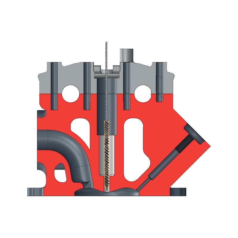 Kit de nettoyage et d'outils de fraisage pour injecteur - 7