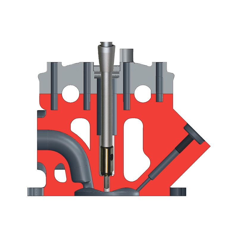Kit de nettoyage et d'outils de fraisage pour injecteur - 5