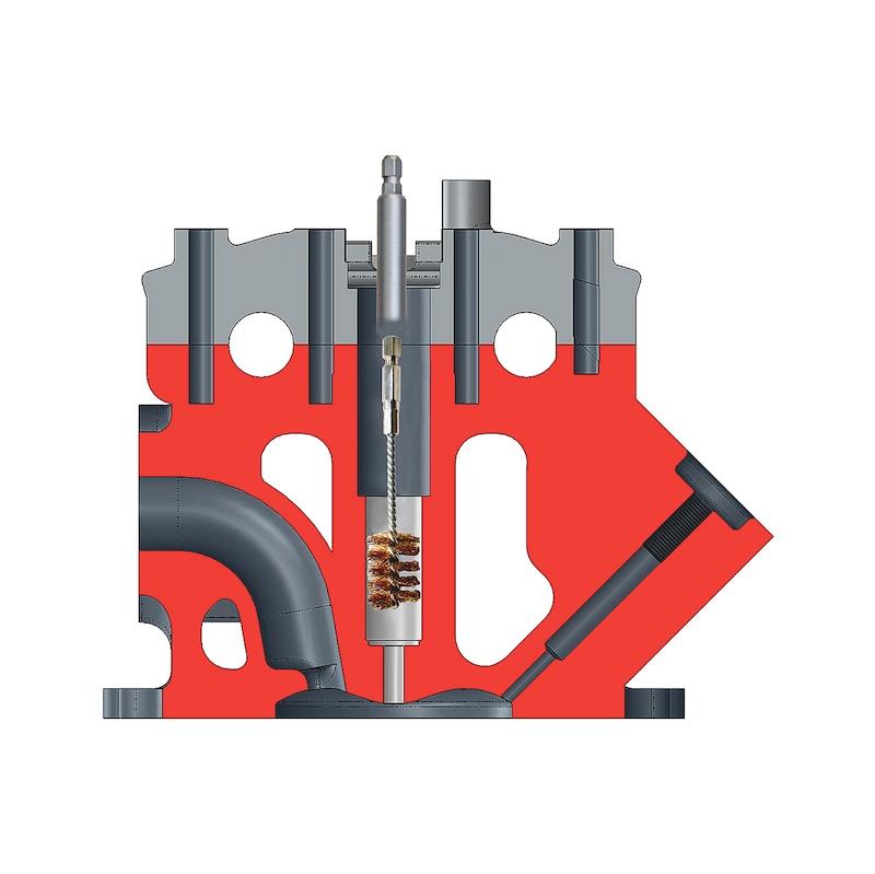 Kit de nettoyage et d'outils de fraisage pour injecteur - 3