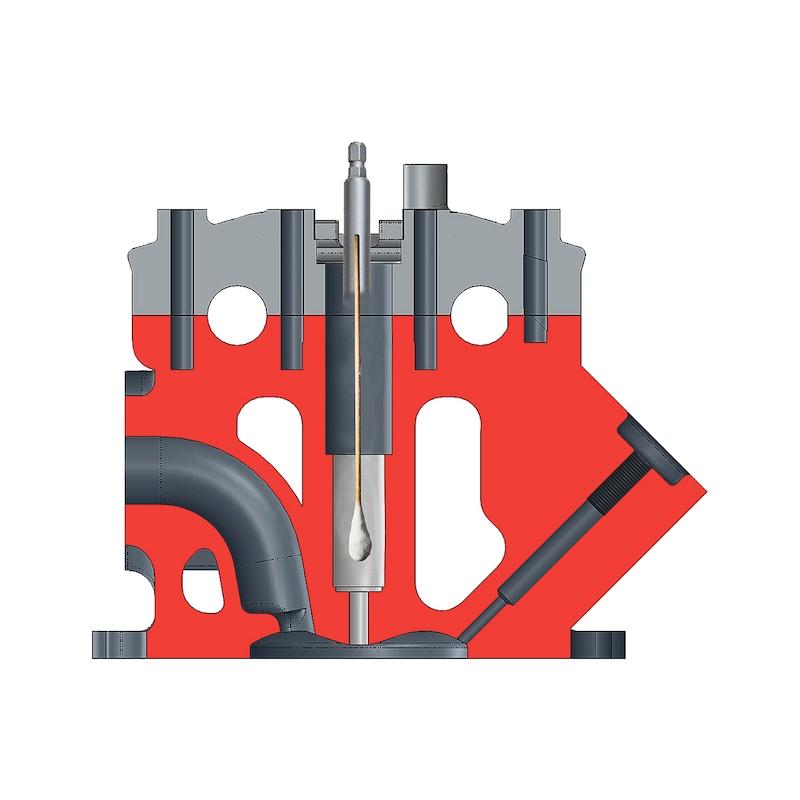 Kit de nettoyage et d'outils de fraisage pour injecteur - 2