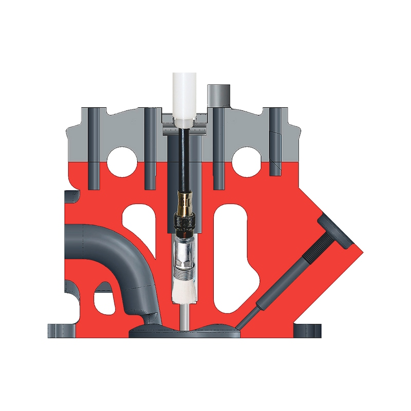 Kit de nettoyage et d'outils de fraisage pour injecteur - 4
