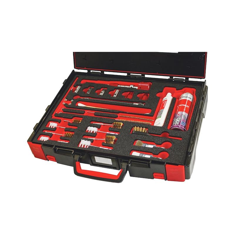 Kit de nettoyage et d'outils de fraisage pour injecteur - 1