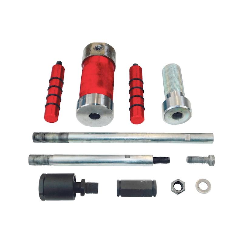 Kit estrattore scorrevole iniettori 3 kg, senza rimbalzo - 2