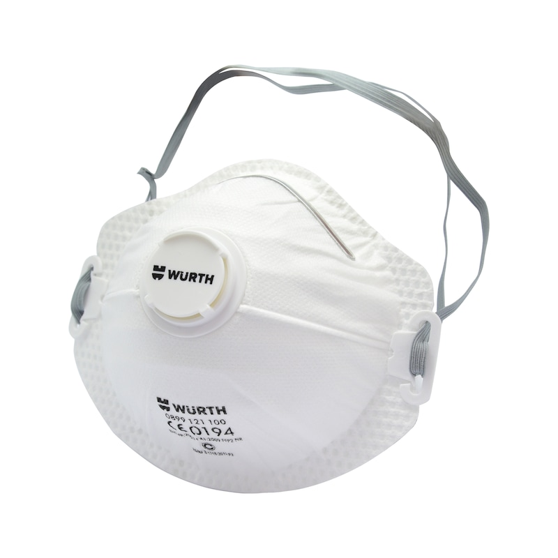 Disposable breathing mask FFP2 with valve - BREAMASK-VALVE-CM-FFP2