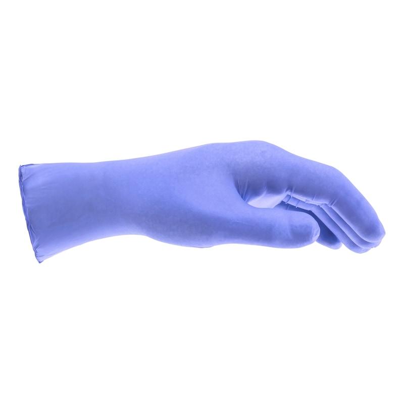 Jednorazowa rękawica nitrylowa, fiolet, bez pudru