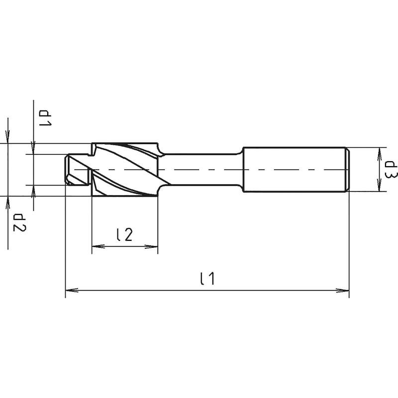 Counterbore DIN 373