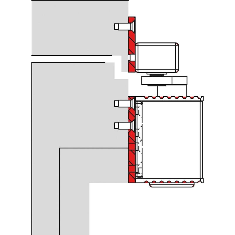 Adaptionsprofil 40 für Schließfolgeregelung Bandgegenseite (SR-BG)