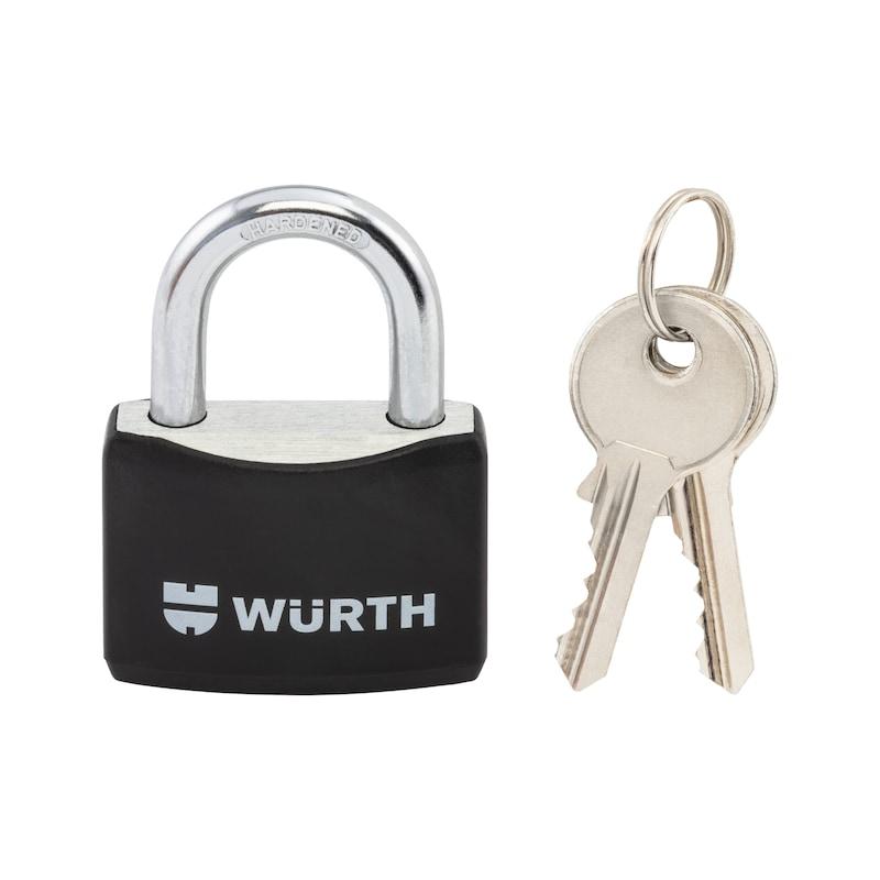 Vorhängeschloss Würth - VORHAENGSHLO-WUERTH-AL-40MM-SCHWARZ
