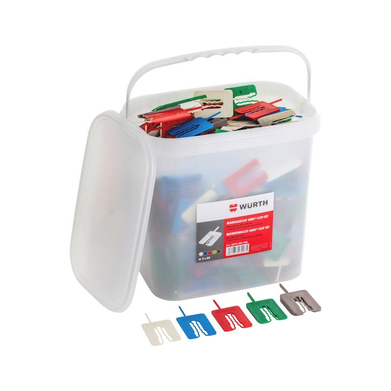 Montageclip AMO<SUP>®</SUP>-Clip Sortiment 400-teilig - 1