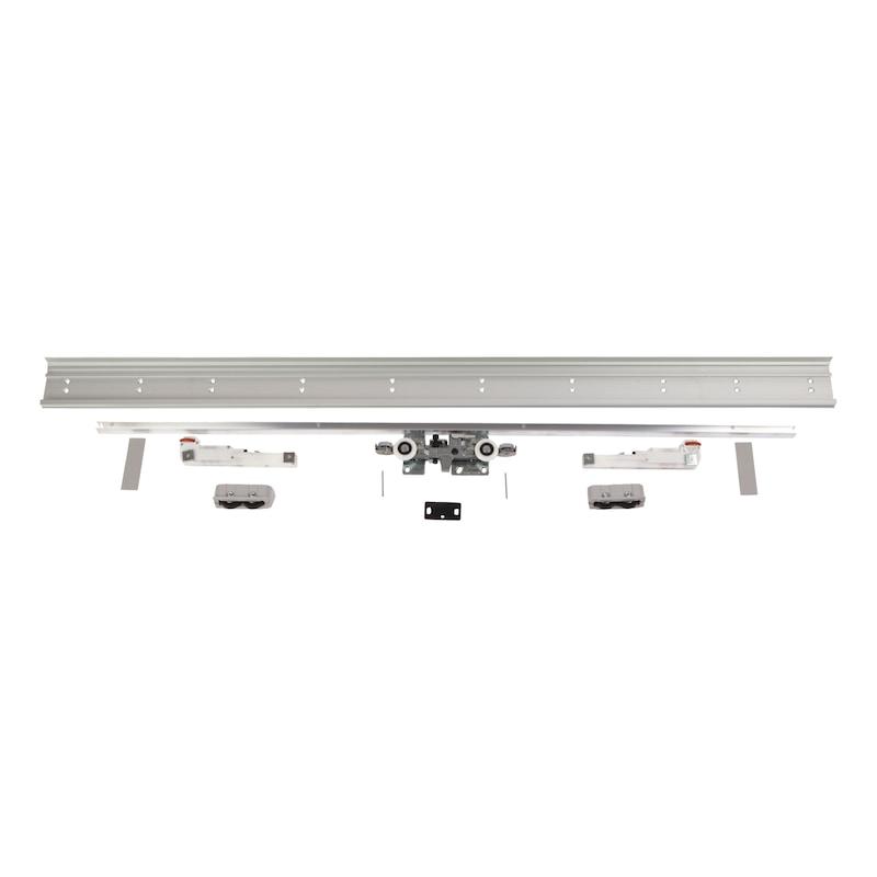 Zimmerschiebetürbeschlag H-80-900 80 kg - 1