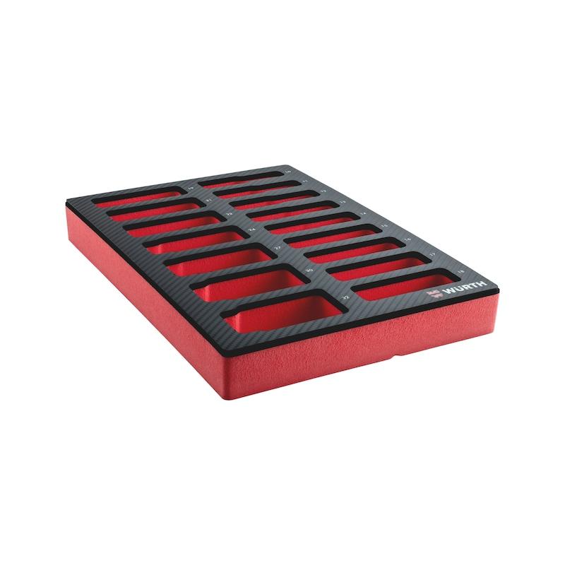 System-Einlage 4.4.1 Steckschlüssel 1/4 Zoll - 3