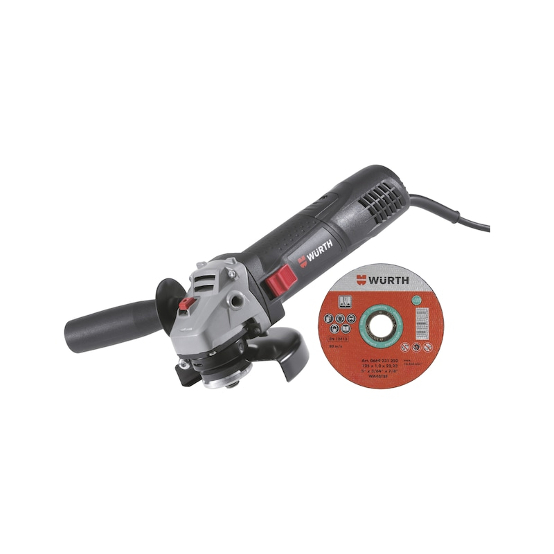 Angle Grinder and Cutting Disc Bundle