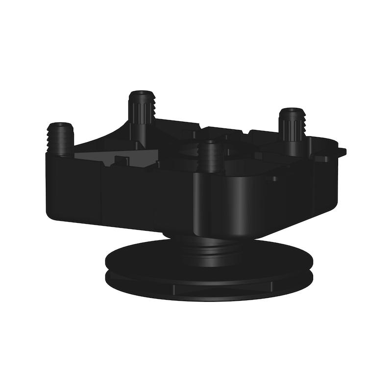 Sockelhöhenversteller Typ EV-D zum Dübeln - 4