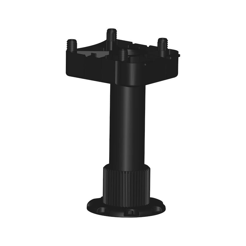 Sockelhöhenversteller Typ EV-D zum Dübeln - 1