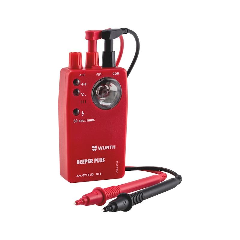 Tester di continuità Beeper Plus - PROVA TENSIONE/PASSAGGIO/CAVI  400V