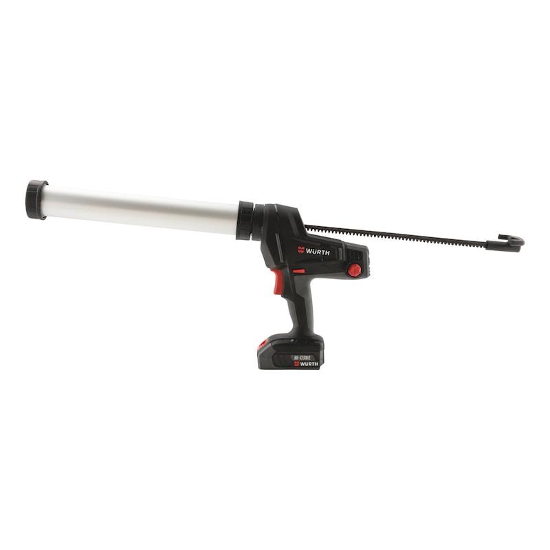Kitpistool, snoerloos, cartridge - APPLGUN-CORDL-(AKP 18-600)-2X2,0AH