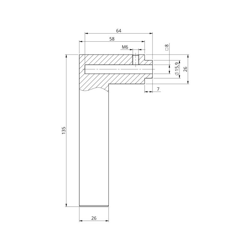 Türdrücker A 133 - 3