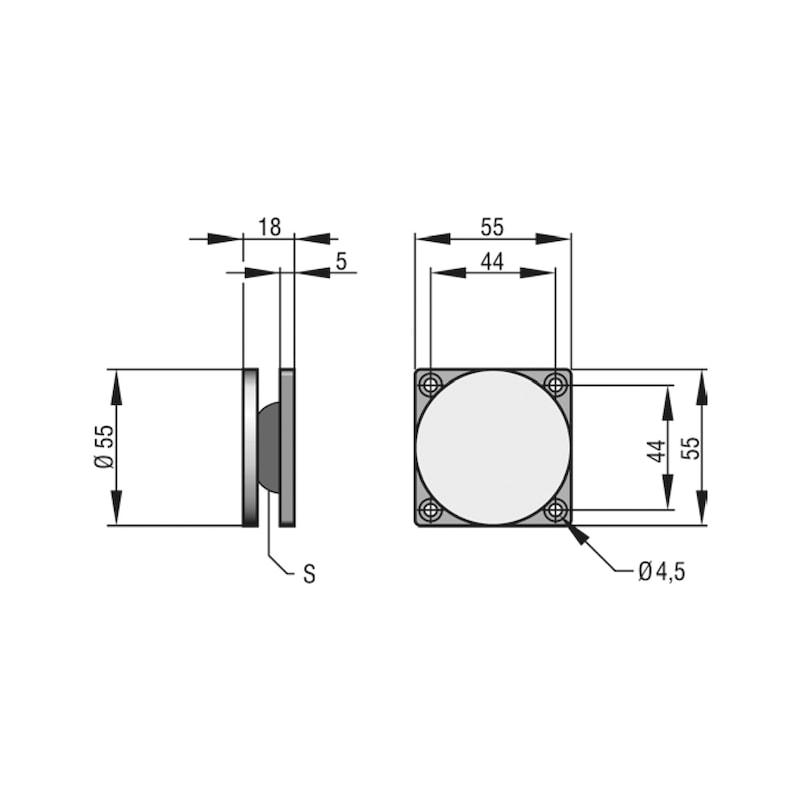 Ankerplatte ASS 55 - 2